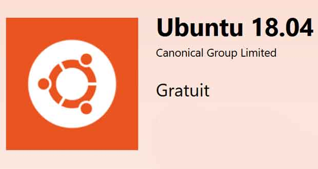 Ubuntu 18.04 et Windows 10, la distribution Linux débarque sur le Windows Store