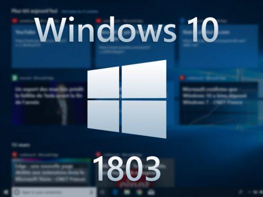 Windows 10 1803 : nouveautés en images de la mise à jour d'avril (April 2018 Update) - CNET France